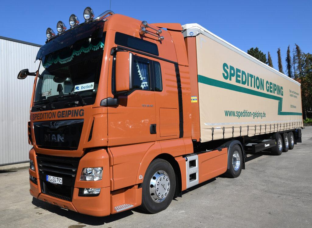 Spedition Geiping – Spezialist für Transport und Logistik